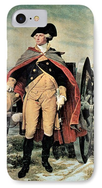 George Washington At Dorchester Heights IPhone Case