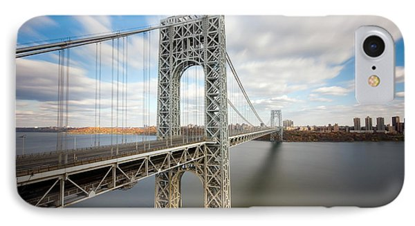 George Washington Bridge IPhone Case by Greg Gard
