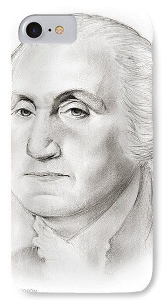 George Washington IPhone Case by Greg Joens