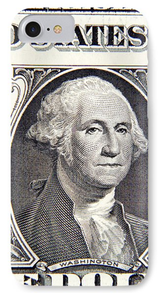 George Washington IPhone Case by Les Cunliffe