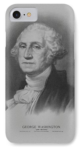 George Washington IPhone 7 Case by War Is Hell Store