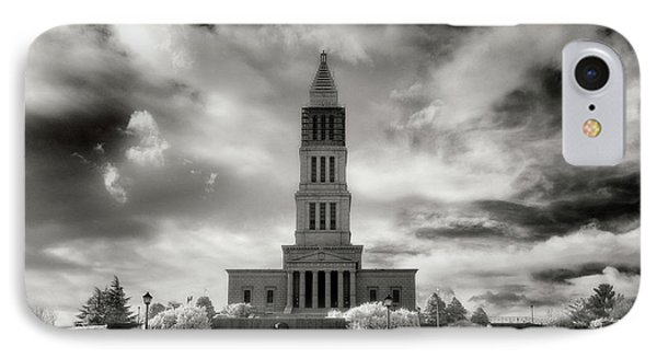 George Washinton Masonic Memorial IPhone Case by Paul Seymour