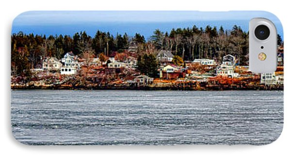 Georgetown Island Bay Point In Maine IPhone Case by Olivier Le Queinec