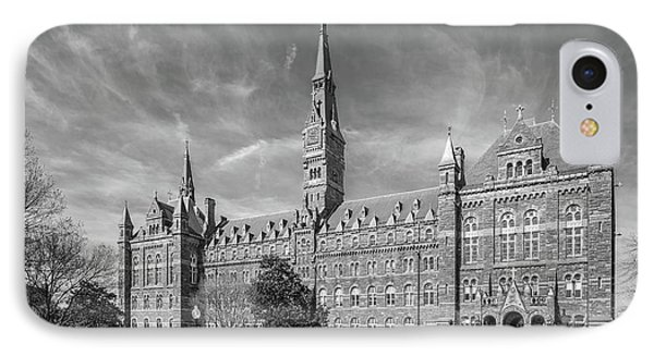 Georgetown University Healy Hall IPhone 7 Case by University Icons