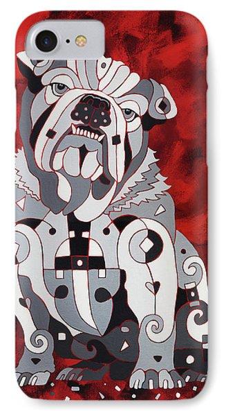 Georgia Bull Dog IPhone Case