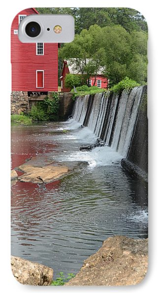 IPhone Case featuring the photograph Georgia Mill by Margaret Palmer