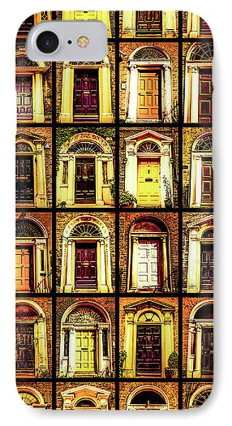 Georgian Doors Of Dublin 4 IPhone Case by Lexa Harpell