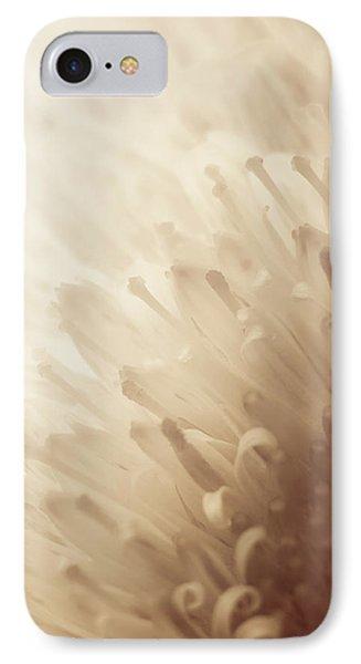 Gerbera Sepia IPhone Case by Wim Lanclus