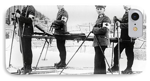 German Ambulance On Skis IPhone Case