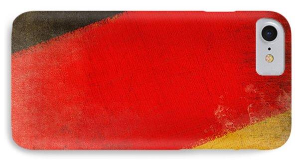 German Flag Phone Case by Setsiri Silapasuwanchai