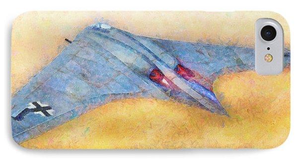 German Flying Wing - Pa IPhone Case by Leonardo Digenio