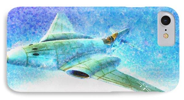 German Messerschmitt Me 262 Hg 3 - Da IPhone Case