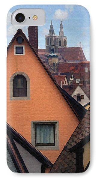 German Rooftops IPhone Case