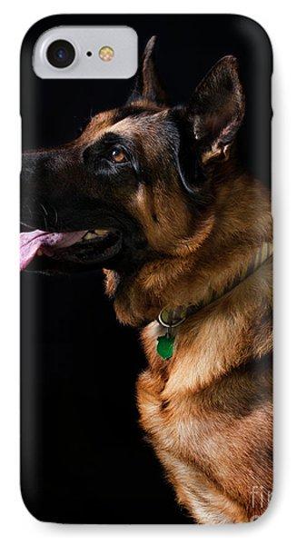 German Shepherd IPhone Case by Diane Diederich