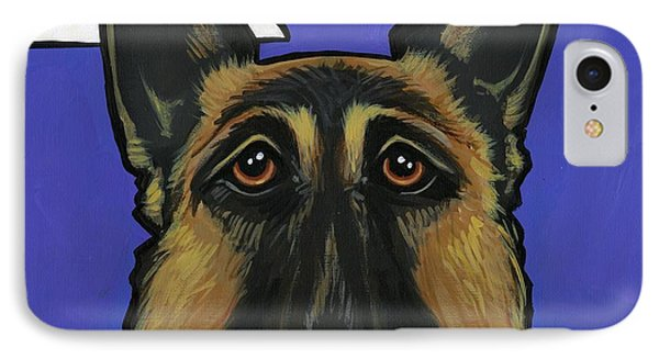 German Shepherd Phone Case by Leanne Wilkes