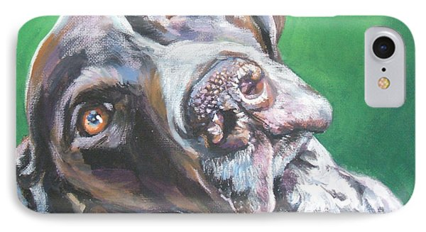 German Shorthaired Pointer IPhone Case by Lee Ann Shepard