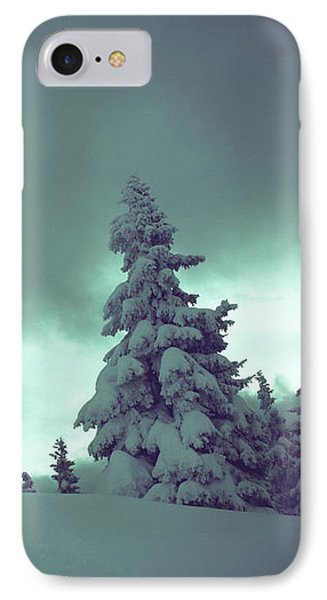 German Winter Landscape IPhone Case by Happy Home Artistry