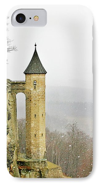 Germany - Elbtal From Festung Koenigstein Phone Case by Christine Till