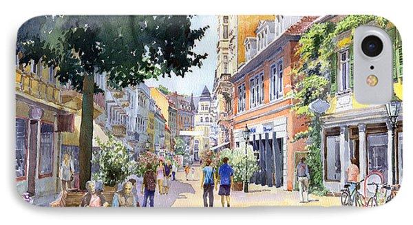 Germany Baden-baden Lange Strasse IPhone Case