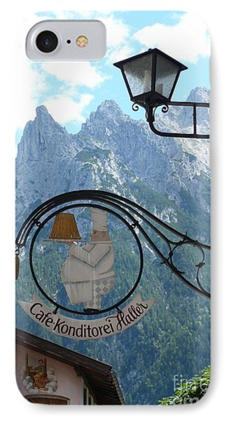 Germany - Cafe Sign IPhone Case by Carol Groenen