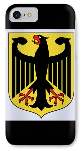 IPhone Case featuring the drawing Germany Coat Of Arms by Movie Poster Prints