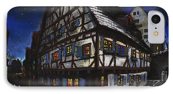 Street iPhone 7 Case - Germany Ulm Fischer Viertel Schwor-haus by Yuriy Shevchuk