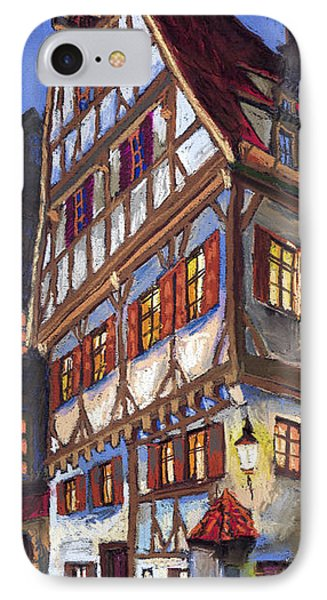 Germany Ulm Old Street IPhone Case by Yuriy  Shevchuk