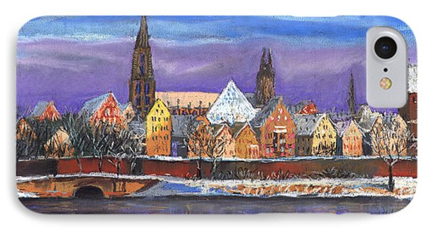 Germany Ulm Panorama Winter IPhone Case