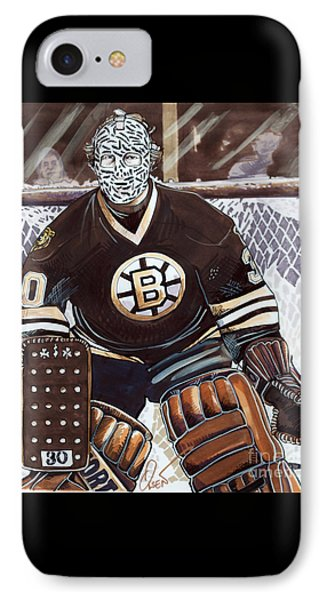 Gerry Cheevers IPhone Case