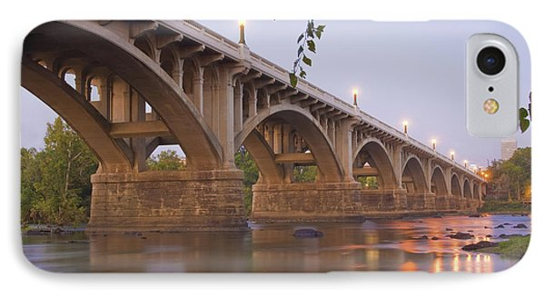Gervais Bridge IPhone Case by Steven Richardson
