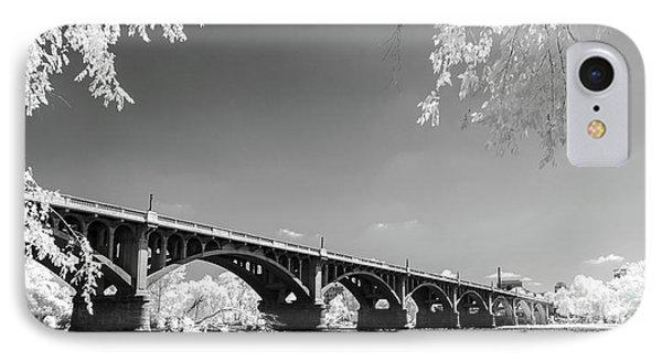 Gervais Street Bridge In Ir1 IPhone Case by Charles Hite
