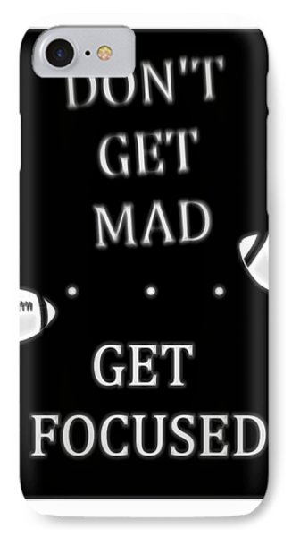 Get Focused Football IPhone Case by Dan Sproul
