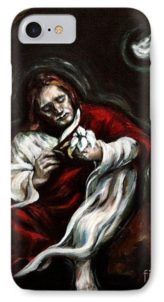 Gethsemane IPhone Case by Carrie Joy Byrnes