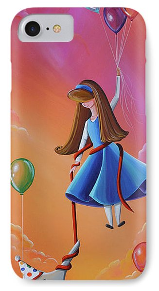 Getting Carried Away IPhone Case by Cindy Thornton
