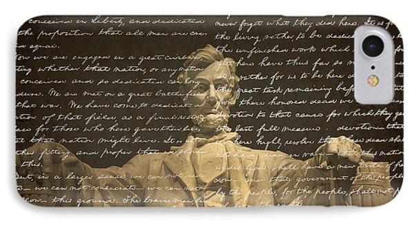 Gettysburg Address IPhone 7 Case