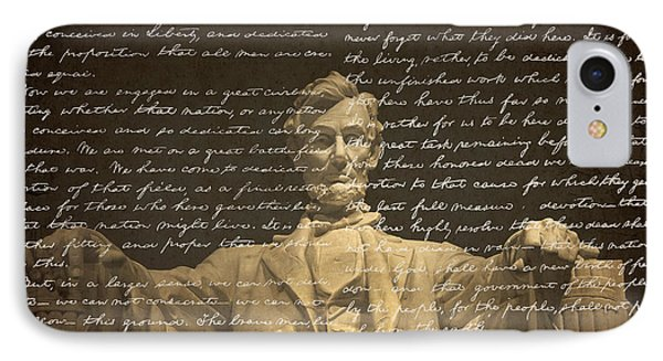 Gettysburg Address IPhone Case by Diane Diederich
