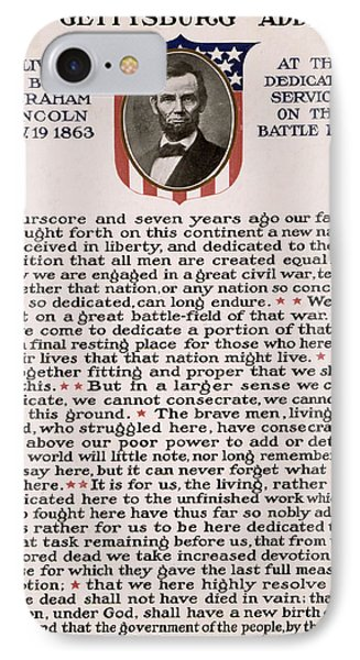 Gettysburg Address IPhone Case by International  Images