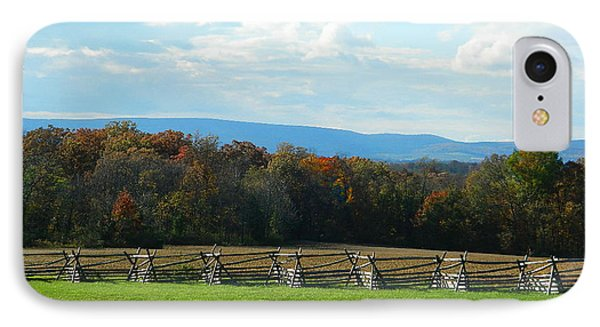 IPhone Case featuring the photograph Gettysburg Battlefield And Beyond by Emmy Marie Vickers