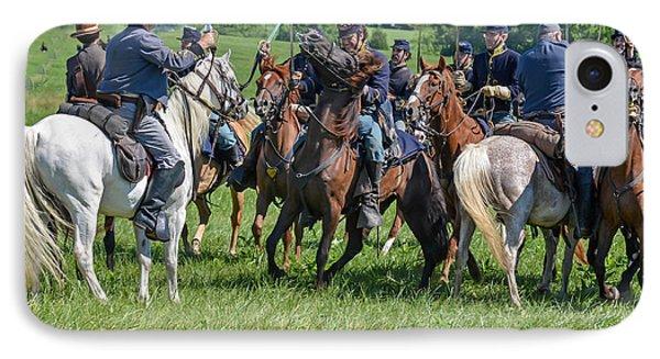 Gettysburg Cavalry Battle 7970c  IPhone Case