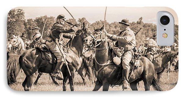 Gettysburg Cavalry Battle 7978s  IPhone Case