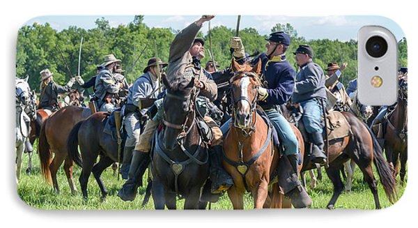 Gettysburg Cavalry Battle 7992c  IPhone Case
