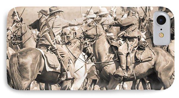 Gettysburg Cavalry Battle 8021s  IPhone Case