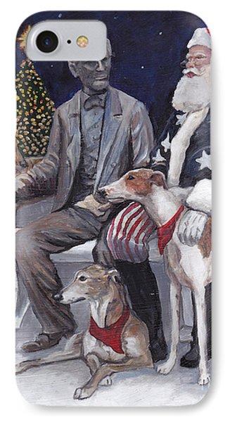 Gettysburg Christmas Phone Case by Charlotte Yealey