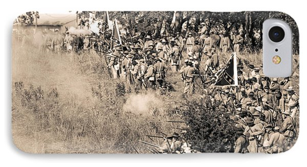 Gettysburg Confederate Infantry 8825s IPhone Case