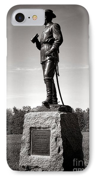 Gettysburg National Park Major General John Buford Monument IPhone Case by Olivier Le Queinec