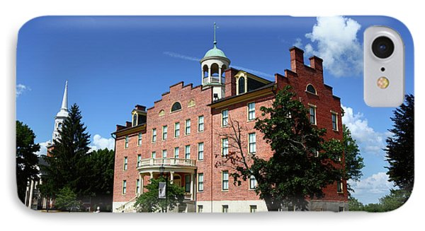 Gettysburg Theological Seminary Schmucker Hall IPhone Case by James Brunker