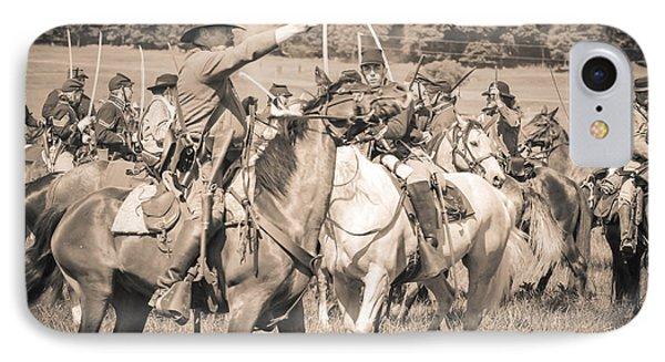 Gettysburg  Union Cavalry 7920s  IPhone Case