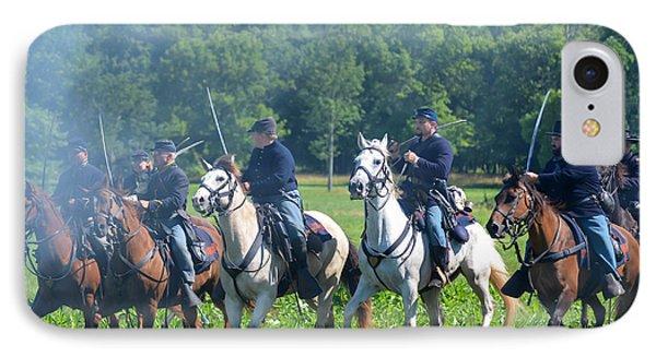 Gettysburg  Union Cavalry IPhone Case