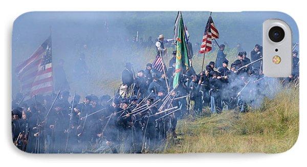 Gettysburg Union Infantry 8947c IPhone Case