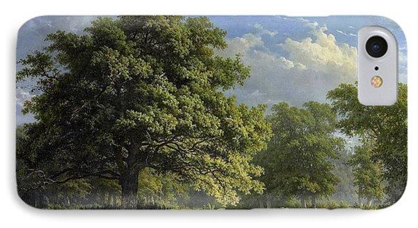 Gezicht In Het Bentheimse Bos IPhone Case by George Andries